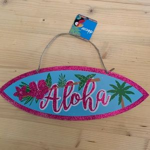 Wooden Aloha Sign